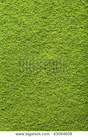 Background of green powder matcha tea