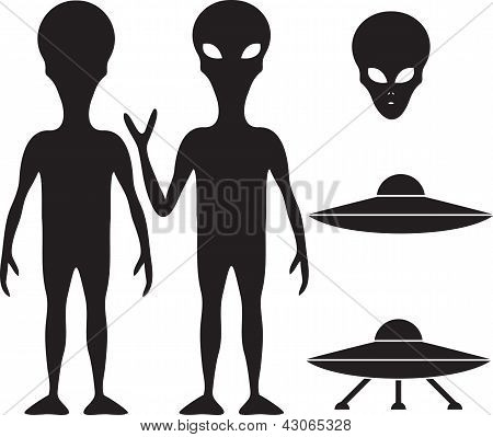 Alien And Ufo