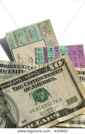 Tickets And Cash