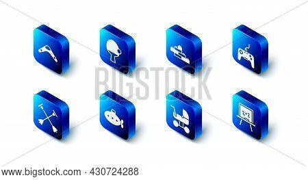 Set Racket And Ball, Toy Building Block Bricks, Gamepad, Chalkboard, Baby Stroller, Submarine Toy, A