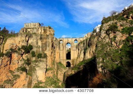 Ronda And Its Bridge Andalusia Spain