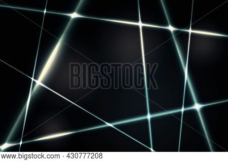Glow Metal Background Dark Background. Minimalistic Abstract Background For Website, Poster, Brand I