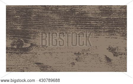 Vector Illustration. Natural Wooden Background With Wood Texture And Relief. For The Background, Ban
