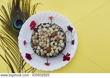 Kachariyu A Gujarat Special Sweet Dish Item Made Specially During Winter Season. Kachariyu Or Kachri