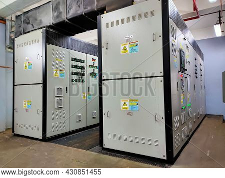 Malaysia,perak 17 August 2021: Msb (main Switchboard),it Is Used For Receiving, Measuring And Distri