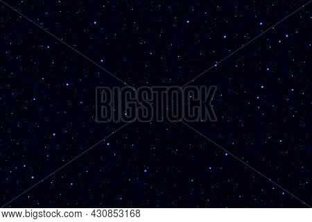 Galaxy Space Background. 3d Photo Of Starry Night Sky Background.