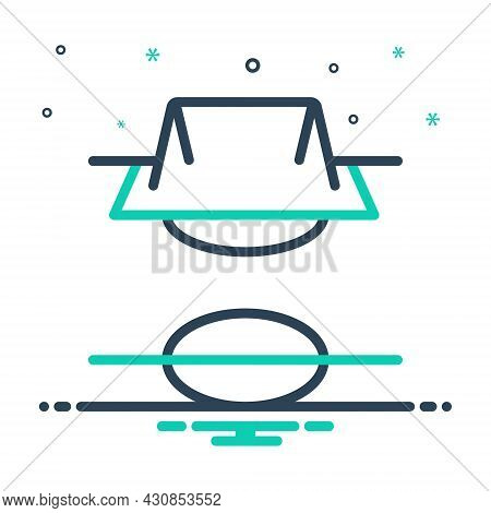 Mix Icon For Field Steppe Champaign Football Soccer Sport Pitch Game Stadium