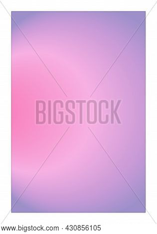 Trendy Poster With Vibrant Colors Radial Gradient