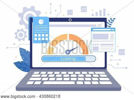 Website Loading Speed Optimization With Server, Web Programming, Mobile App Development, And Page So