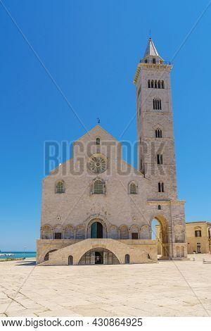 The Santa Maria Assunta Cathedral, Also Named San Nicola Pellegrino Cathedral Located In Duomo Squar