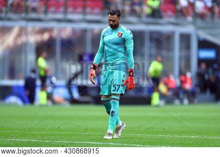 Milano, 21 August 2021. Salvatore Sirigu Of Genoa Cfc  During The Serie A Match Between Fc Internazi