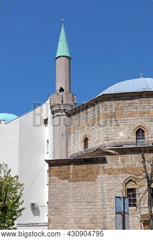 Only Remaining Mosque Building In Belgrade Serbia