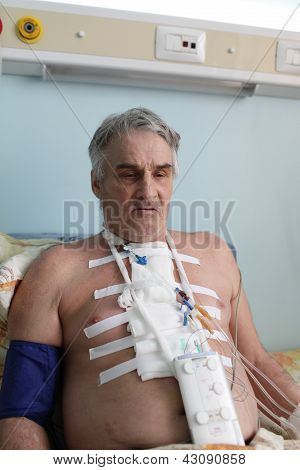 Man With Pacemaker