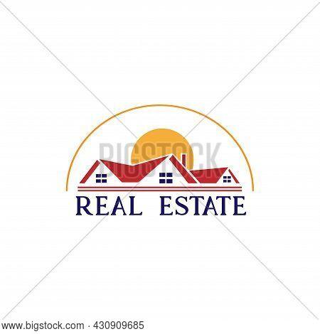 Real Estate Design Logo Vector. Real Estate Design Logo Business