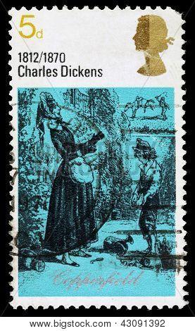 Britain Charles Dickens Postage Stamp