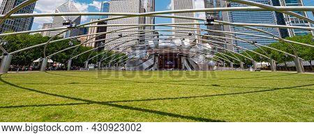 Jay Pritzker Concert Pavilion At Millennium Park In Chicago - Chicago, Illinois - June 11, 2019