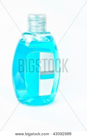 Bottle With Blue Product