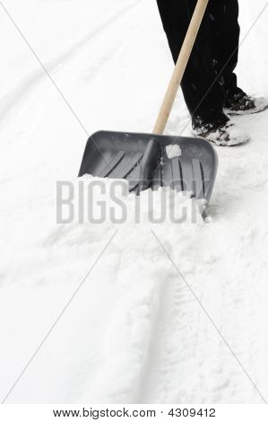 Cleaning Of A Snow