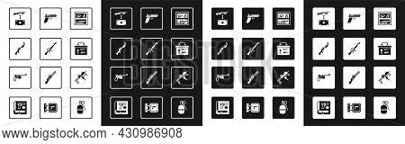 Set Hunting Shop Weapon, M16a1 Rifle, Gun, Buying Assault, Military Ammunition Box, Pistol Or, Mp9i