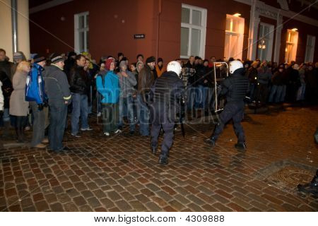 Riots And Police