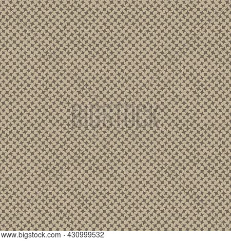 A Woven Canvas Seamless Vector Texture Pattern