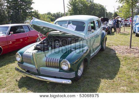 1941 Nash Ambassador Aqua Blue Car