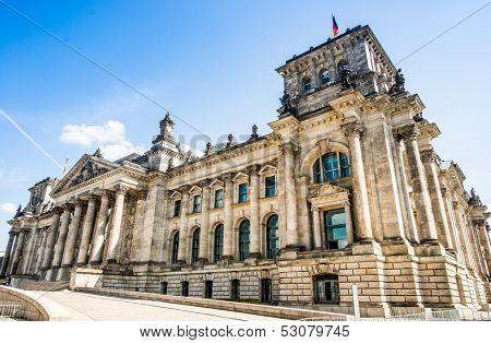 Bundestag (Reichstag) in Berlin, Germany
