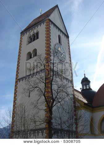 eine kleine mittelalterliche Stadt