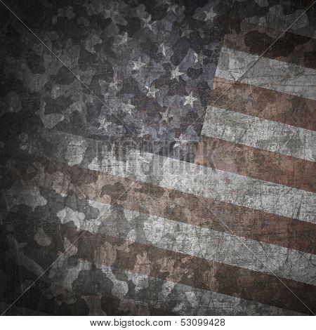 Grunge Military Background