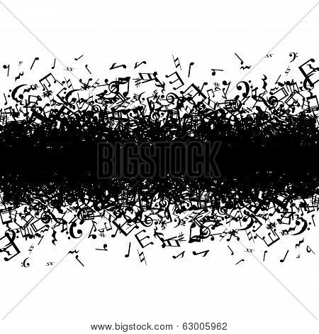 music notes border