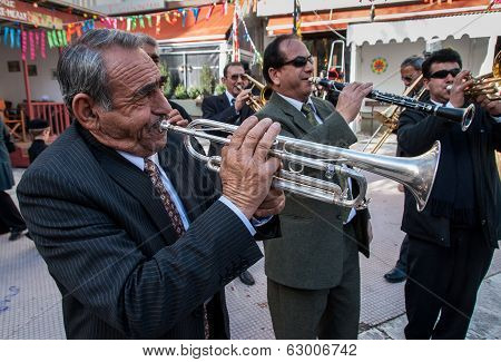 Roma Musicians In Greece