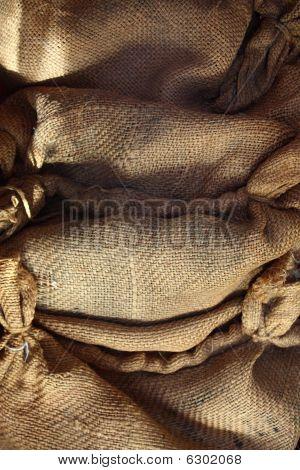 Burlap Sack Fabric