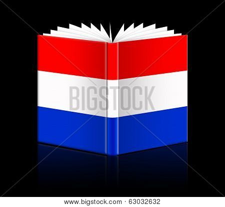 Open Book - Flag Of The Netherlands