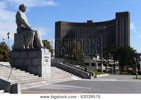 Monument Tsyolkovsky