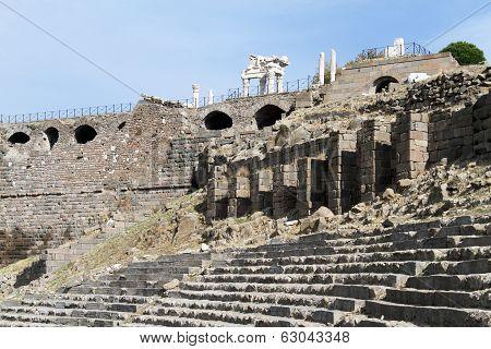 Ruins In Pergam