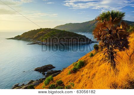 Phromthep Cape At Sunset  Phuket, Thailand