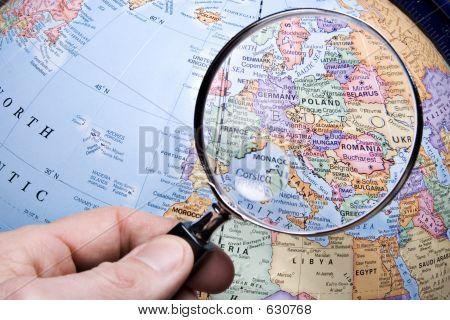 Studium der Geographie