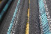 close-up of hammock fabric poster