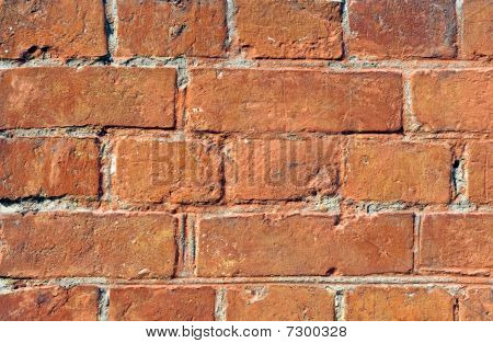 Fragment Of Old Brick Wall Brick Wall