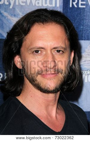 LOS ANGELES - SEP 18:  Clifton Collins Jr at the People Stylewatch Hosts Hollywood Denim Party at The Line on September 18, 2014 in Los Angeles, CA