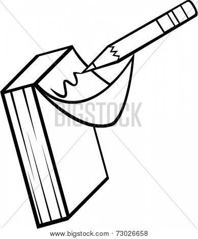 memopad and pencil