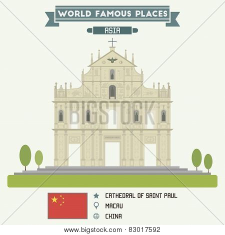 Cathedral Of Saint Paul, Macau