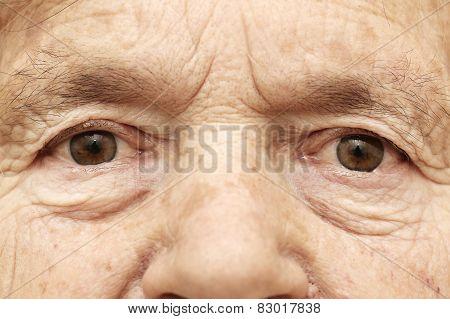 Senior face