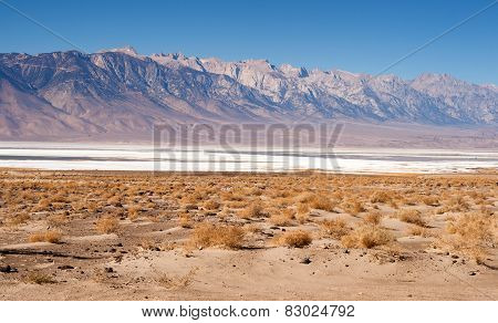Muah Mountain Cirque Peak Sharknose Ridge Owens Lake California