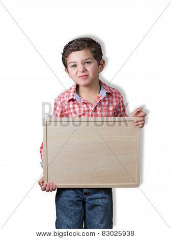 Cute Child Copy Space