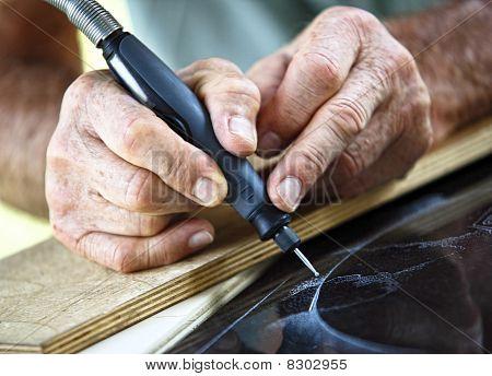 Craftman At Work