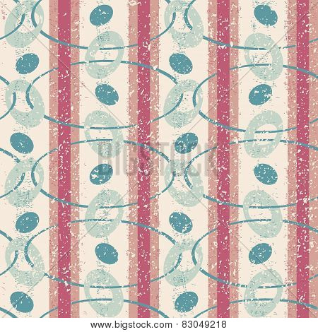 Vintage Pattern with Ovals
