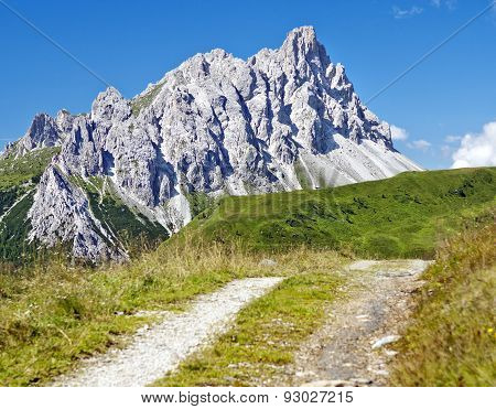 Crode Dei Longerin - Alpi Carniche Or Karnische Alpen
