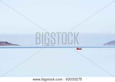 Calm Day At Sea