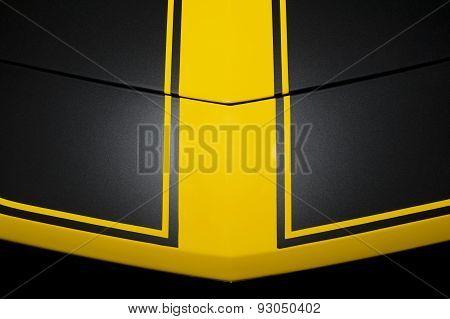 Black car bodywork